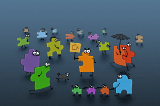 Funny Puzzle - Obrázkek zdarma pro Android 1080x960