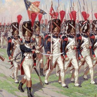 Napoleonic Wars Old Guard - Obrázkek zdarma pro 1024x1024