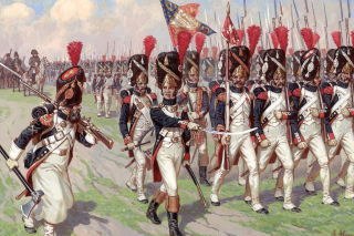 Napoleonic Wars Old Guard Wallpaper for Android, iPhone and iPad