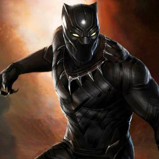 Black Panther 2016 Movie - Obrázkek zdarma pro iPad Air