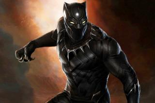 Black Panther 2016 Movie - Obrázkek zdarma pro Motorola DROID