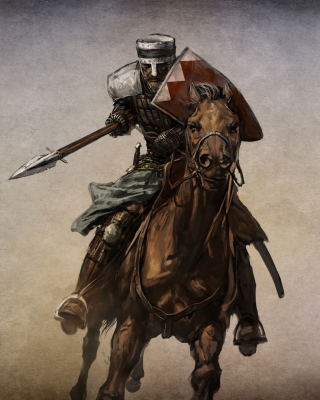 Knight - Obrázkek zdarma pro 320x480