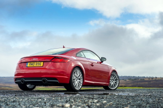 Audi TT Coupe 2015 Picture for Android, iPhone and iPad