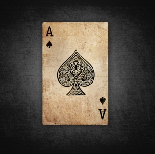 The Ace Of Spades - Obrázkek zdarma pro iPad Air