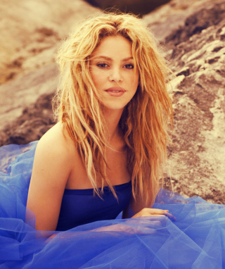 Shakira - Obrázkek zdarma pro 240x400