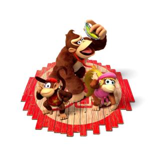 Donkey Kong Country Tropical Freeze - Obrázkek zdarma pro 320x320