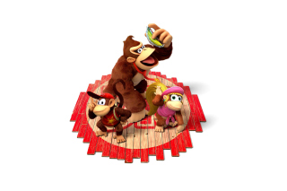 Donkey Kong Country Tropical Freeze - Obrázkek zdarma pro Widescreen Desktop PC 1600x900