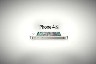 Iphone 4s - Obrázkek zdarma pro Nokia Asha 205