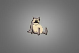 Funny Wolf - Obrázkek zdarma pro Nokia Asha 210