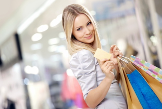 Shopping Girl Wallpaper for Android, iPhone and iPad