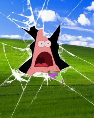 Patrick Breaking Windows - Obrázkek zdarma pro 320x480