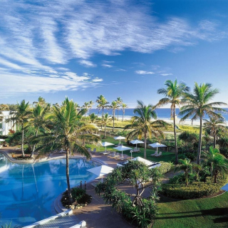 Resort on Ocean Bay - Obrázkek zdarma pro iPad 2