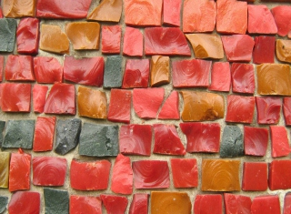 Free Colorful Bricks Picture for Android, iPhone and iPad