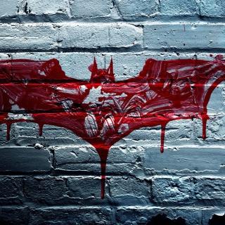Dark Knight Logo - Obrázkek zdarma pro iPad mini