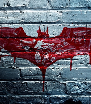 Dark Knight Logo - Obrázkek zdarma pro 320x480