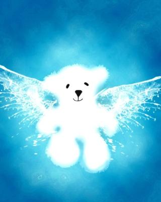 Angel Bear - Obrázkek zdarma pro 176x220