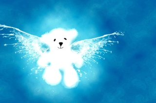 Angel Bear Wallpaper for Android, iPhone and iPad