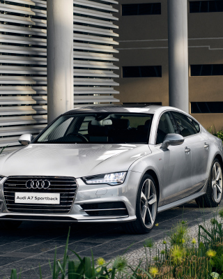 Audi A7 Sportback - Obrázkek zdarma pro 320x480