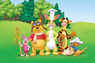 Pooh and Friends Wallpaper for Android, iPhone and iPad