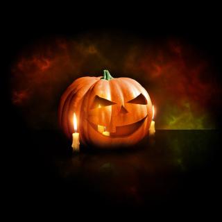 Evil Pumpkin - Obrázkek zdarma pro iPad Air