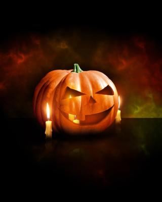 Evil Pumpkin - Obrázkek zdarma pro iPhone 5C