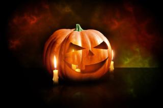 Evil Pumpkin - Obrázkek zdarma pro Samsung Galaxy Tab S 8.4