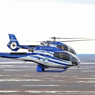 Hudson Bay Helicopters - Obrázkek zdarma pro 1024x1024