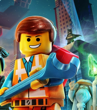 Lego Movie 2014 - Obrázkek zdarma pro Nokia Asha 305
