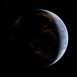 Space Atmosphere - Obrázkek zdarma pro iPad 3