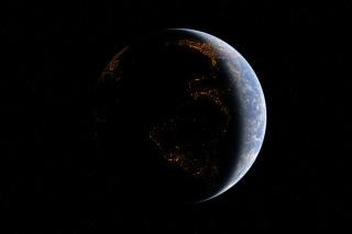 Space Atmosphere - Obrázkek zdarma pro Samsung Galaxy S II 4G