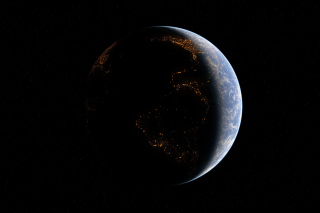 Space Atmosphere - Obrázkek zdarma pro Samsung Google Nexus S 4G