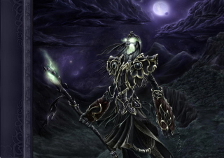 Undead Lich Background for Android, iPhone and iPad