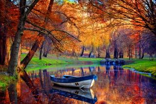 September Autumn River - Fondos de pantalla gratis para Nokia X2-01