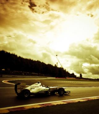Mercedes GP F1 - Obrázkek zdarma pro Nokia Asha 300