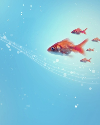 Goldfish - Obrázkek zdarma pro Nokia C3-01