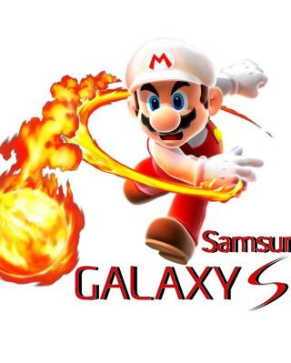 Mario Fire Game - Obrázkek zdarma pro Nokia Asha 305