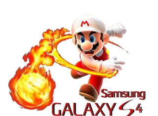 Mario Fire Game - Obrázkek zdarma pro Samsung Galaxy Ace 4