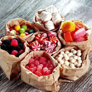 Marshmallows Sweets - Obrázkek zdarma pro 208x208