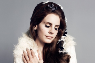 Lana Del Rey Portrait Wallpaper for Android, iPhone and iPad