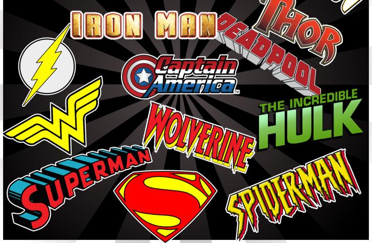 Superhero Logos wallpaper