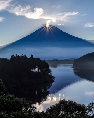 Japan, Volcano Fuji - Obrázkek zdarma pro Nokia X7