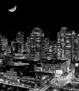 Night Canadian City - Obrázkek zdarma pro Nokia Lumia 1520