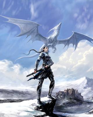 Arcane Elven Warrior in Armor - Obrázkek zdarma pro 768x1280