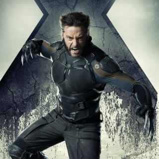 Hugh Jackman X Men Days Of Future Past - Obrázkek zdarma pro iPad