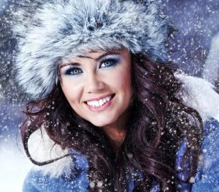 Miss Snowflake - Obrázkek zdarma pro 2048x2048