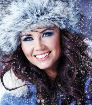 Miss Snowflake - Obrázkek zdarma pro Nokia Asha 305
