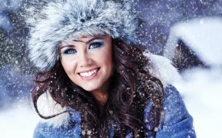 Miss Snowflake - Obrázkek zdarma pro Android 1200x1024