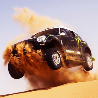 Mini Cooper Countryman Dakar Rally - Obrázkek zdarma pro iPad mini 2