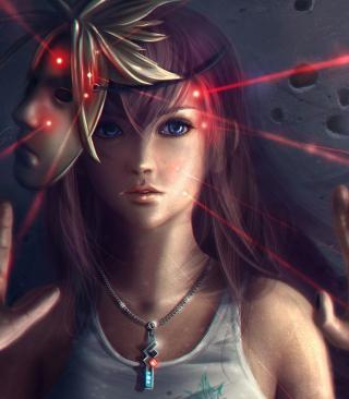 Final Fantasy Girl - Obrázkek zdarma pro 480x800