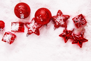 Red Decorations Picture for Android, iPhone and iPad